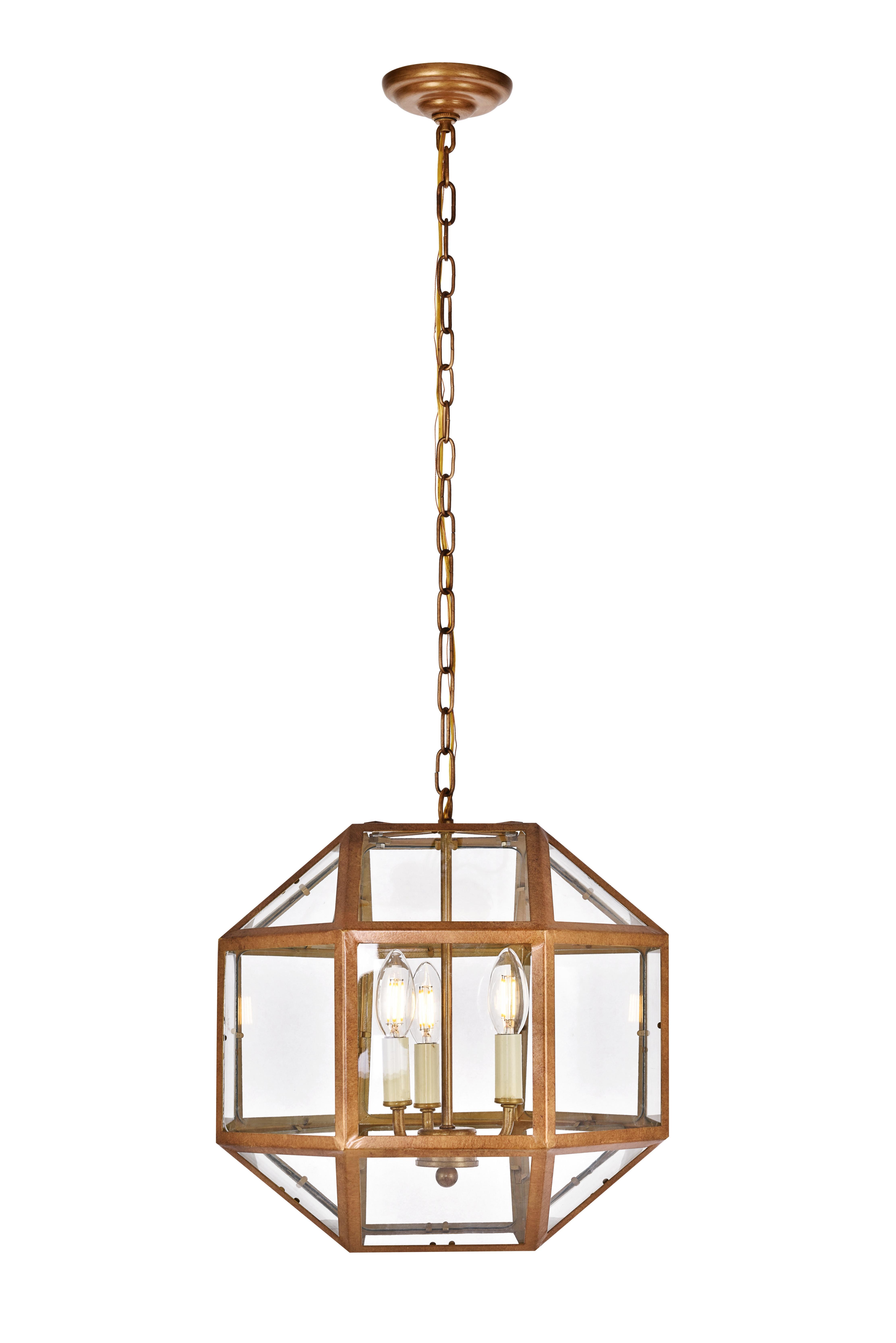 Allmodern Inside Cavanagh 4 Light Geometric Chandeliers (Gallery 10 of 20)
