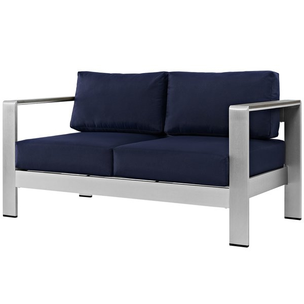 Allmodern Throughout Bullock Outdoor Wooden Loveseats With Cushions (View 4 of 20)