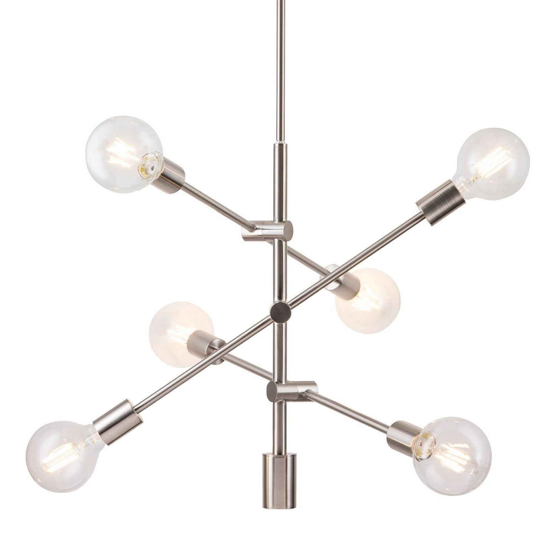 Allmodern Throughout Everett 10 Light Sputnik Chandeliers (View 4 of 20)