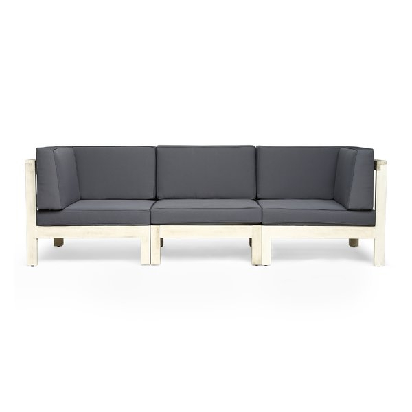 Allmodern Throughout Lakeland Teak Patio Sofas With Cushions (Gallery 17 of 20)