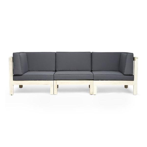 Allmodern Throughout Lakeland Teak Patio Sofas With Cushions (View 17 of 20)
