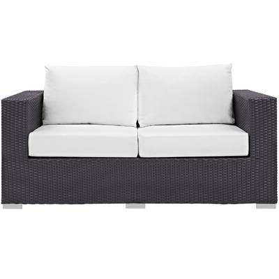Allmodern With Regard To Provencher Patio Loveseats With Cushions (View 1 of 20)