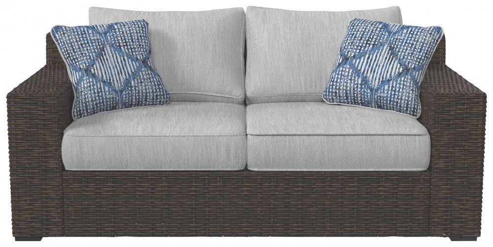Alta Grande Loveseat With Cushion In Trendy Clifford Loveseats With Cushion (View 15 of 20)