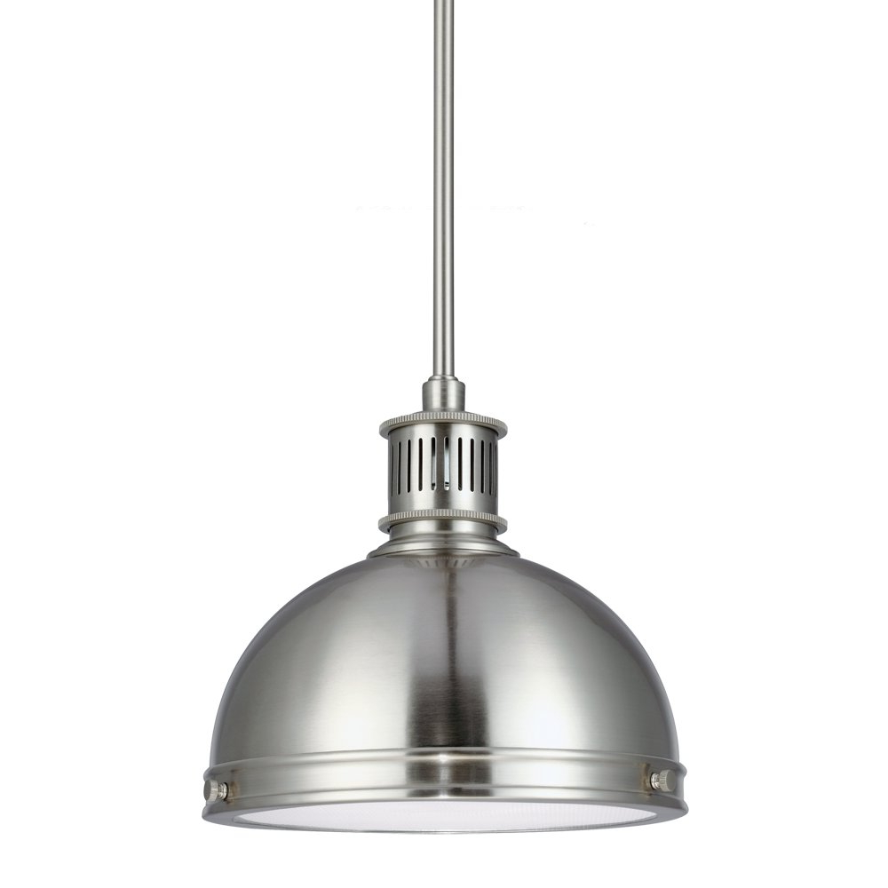 Amara 2 Light Dome Pendant With Most Current Ninette 1 Light Dome Pendants (View 3 of 20)