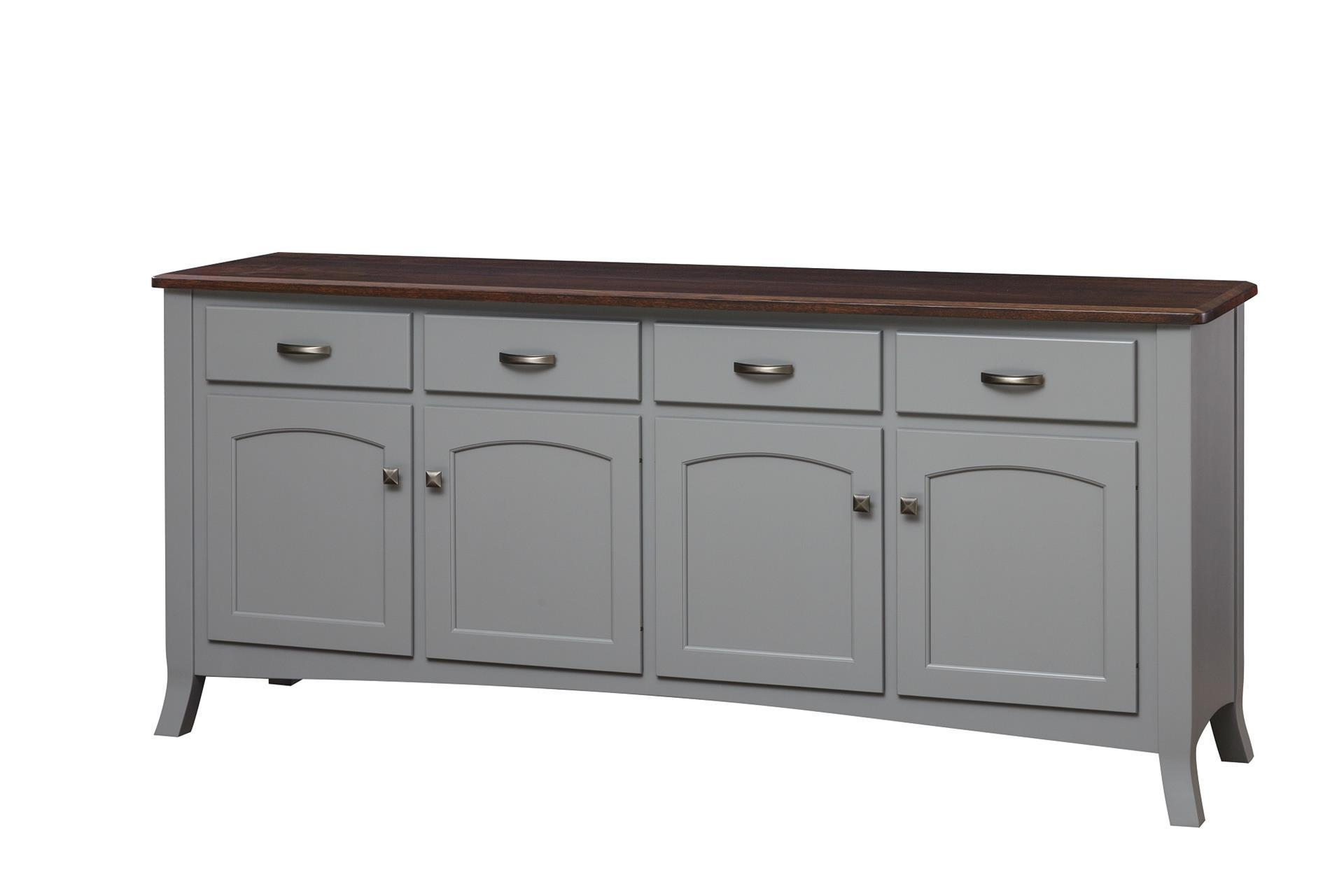 Amish Concord Buffet Sideboard In Famous Metro Sideboards (View 2 of 20)