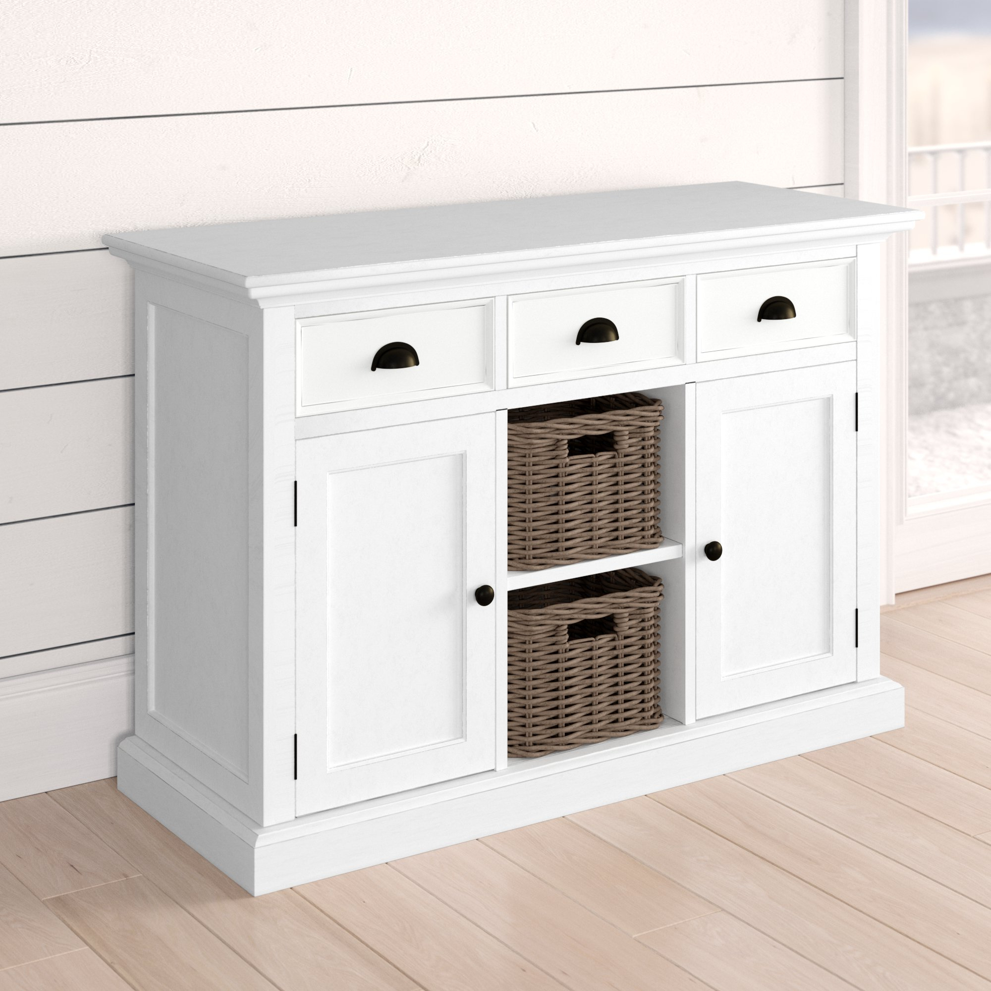 Amityville Wood Server In 2019 Amityville Sideboards (View 10 of 20)