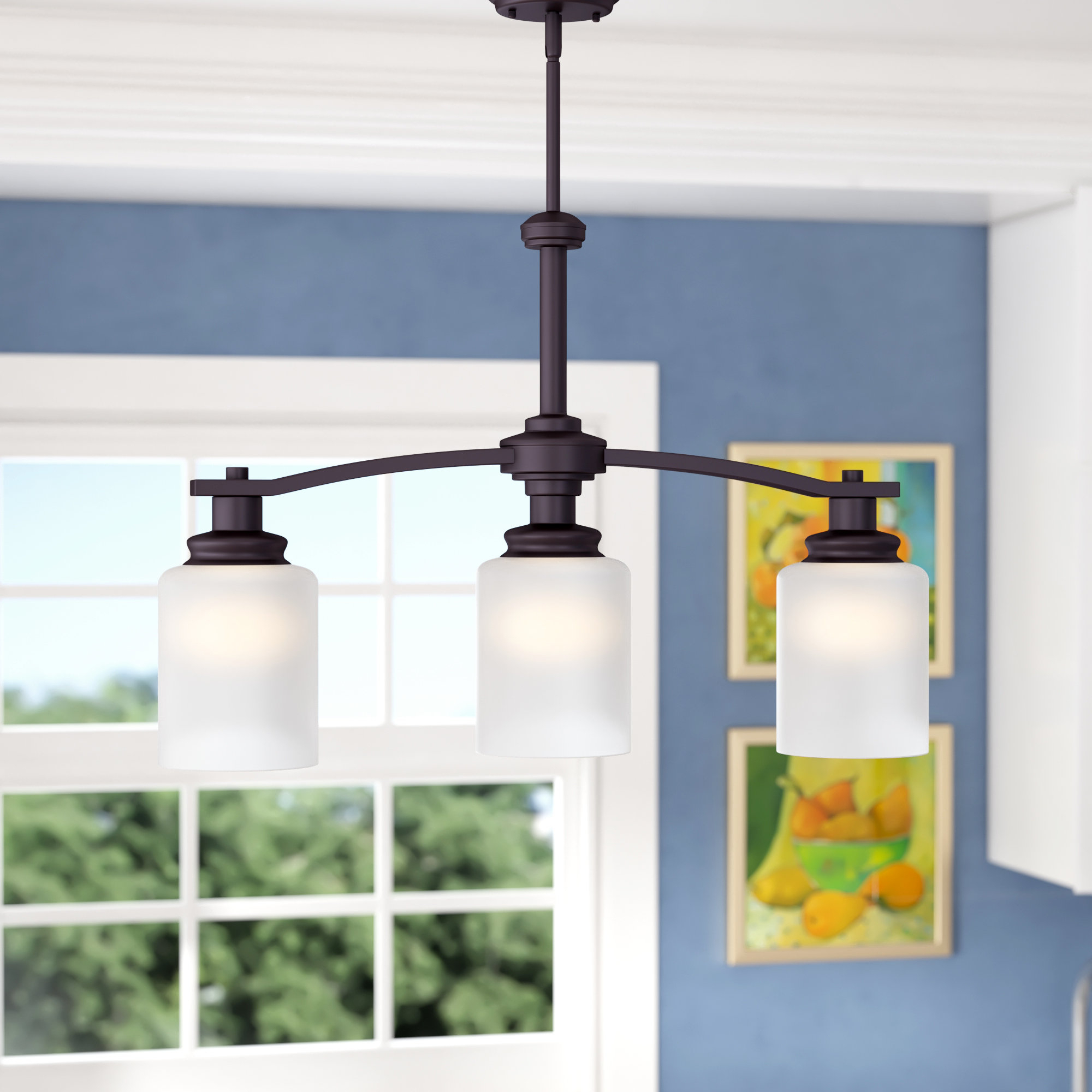 Andover Mills Slocumb 3 Light Kitchen Island Pendant Regarding Newest Smithville 4 Light Kitchen Island Pendants (View 4 of 20)