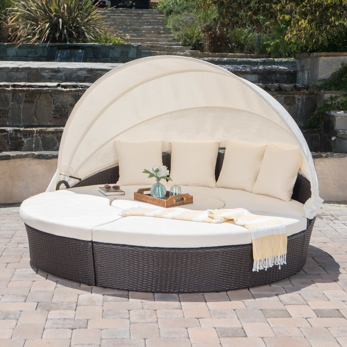 Antigua Patio Daybed With Cushions Inside Current Patio Daybeds With Cushions (View 16 of 20)