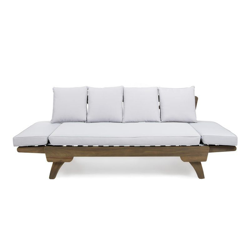 Apartment With Preferred Ellanti Teak Patio Daybeds With Cushions (View 3 of 20)
