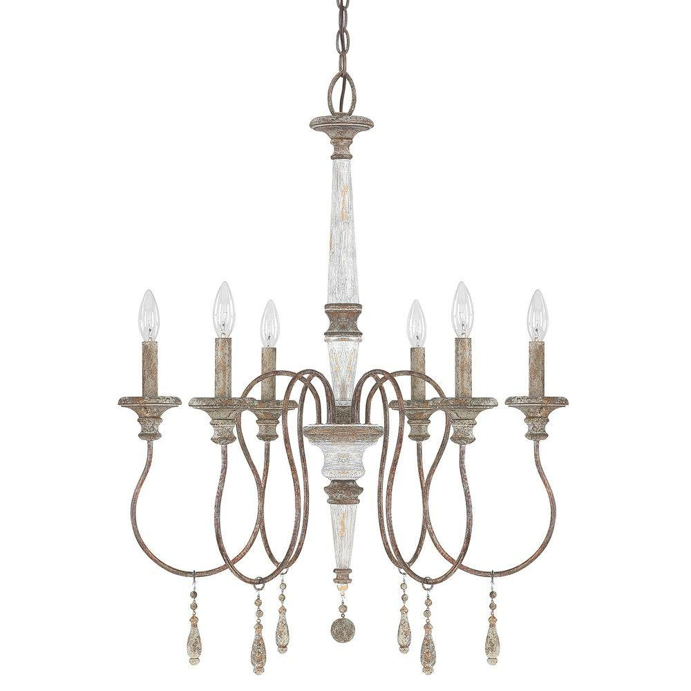 Armande Candle Style Chandeliers Pertaining To Favorite Armande Candle Style Chandelier (View 4 of 20)