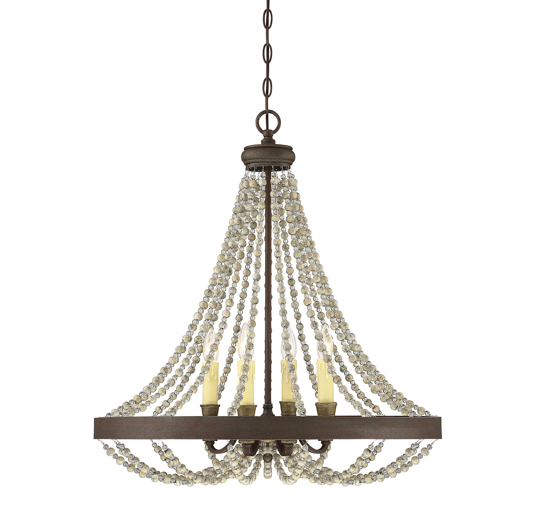 Artana 4 Light Candle Style Chandelier Throughout Popular Whitten 4 Light Crystal Chandeliers (Gallery 6 of 20)