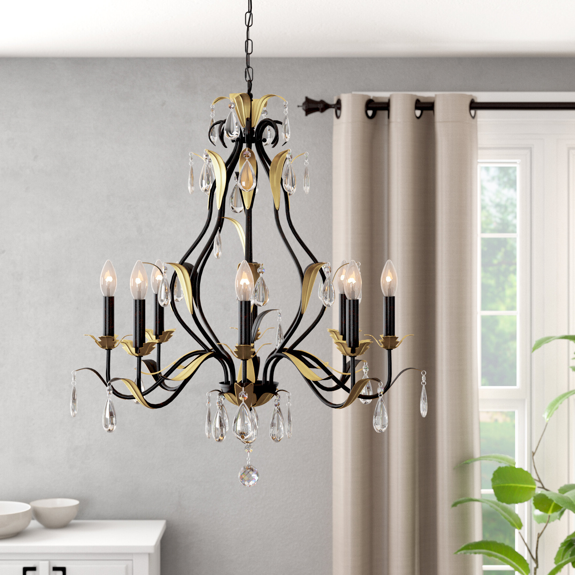 Aspendale 8 Light Candle Style Chandelier With Regard To Most Recently Released Warner Robins 3 Light Lantern Pendants (View 1 of 20)