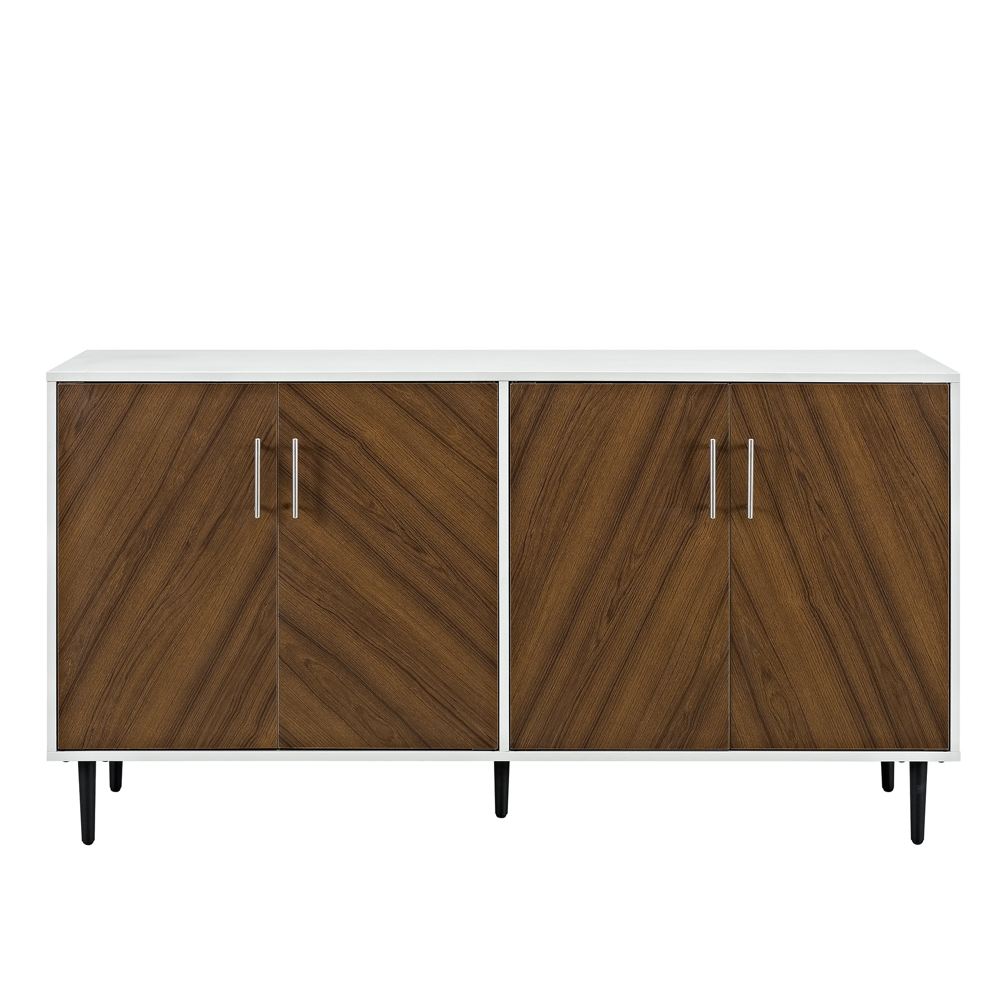 Avenal Sideboards For Recent Modern Brown Sideboards + Buffets (View 16 of 20)