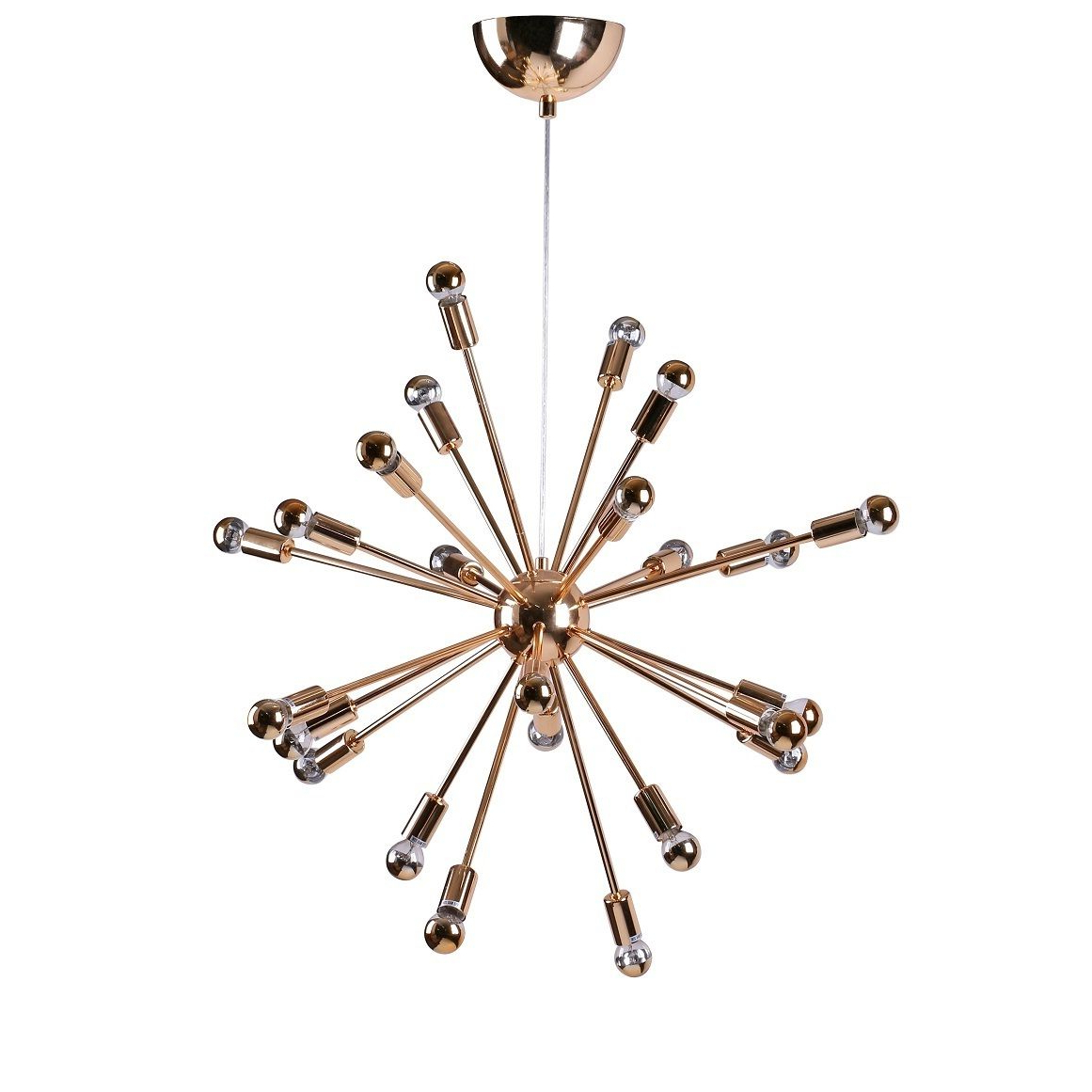 Bacchus 12 Light Sputnik Chandeliers With Regard To Most Popular Spark Hanging Chandelier 23 Inches Gold (Spark Hanging (View 14 of 20)