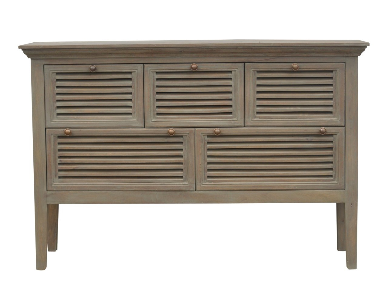 Baleine 3 Drawer Sideboards Pertaining To Newest Criswell 1 Drawer Sideboard With Flute Legs (View 4 of 20)