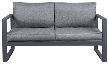 Baltic Loveseats With Cushions Pertaining To Fashionable Baltic Loveseat In Gray (View 4 of 20)