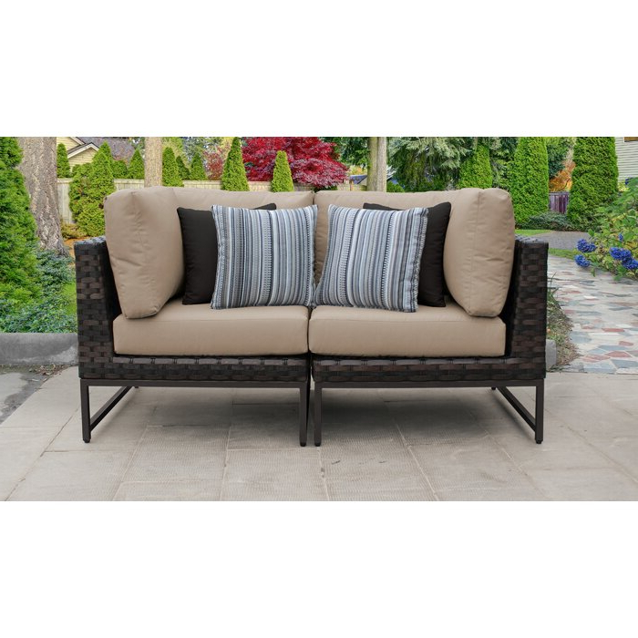 Barcelona Loveseat With Cushions With Newest Pantano Loveseats With Cushions (View 2 of 20)
