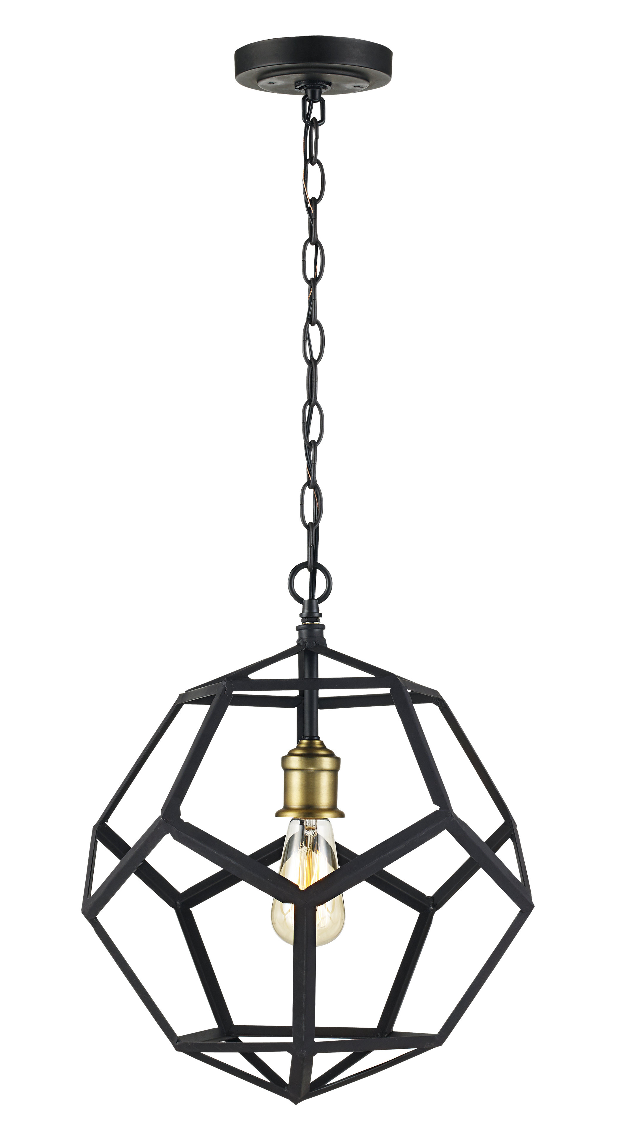 Barrons 1 Light Single Cylinder Pendants For Most Popular Severn Beach 1 Light Single Geometric Pendant (View 8 of 20)