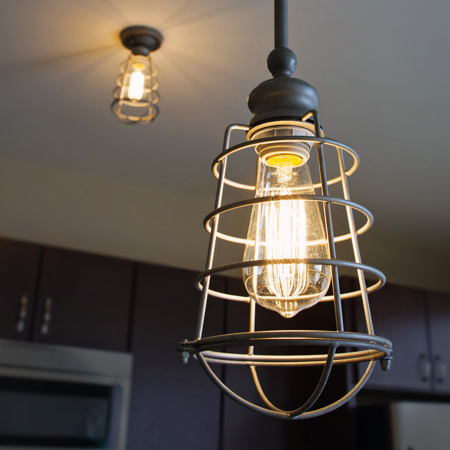 Barrons 1 Light Single Cylinder Pendants With Most Recently Released Leda 1 Light Geometric Pendant (View 7 of 20)