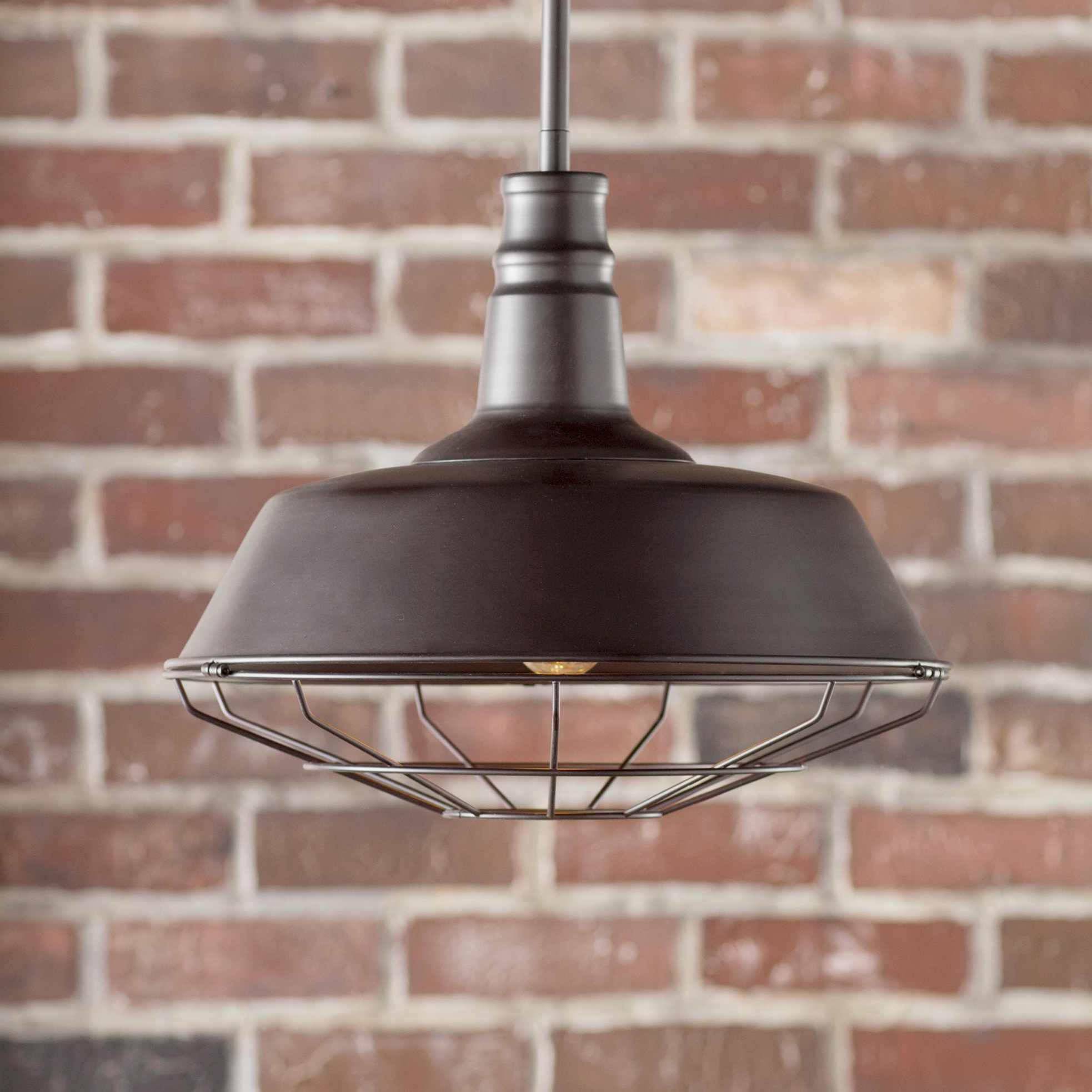 Barrons 1 Light Single Cylinder Pendants Within Most Popular Juneau 1 Light Single Dome Pendant (View 8 of 20)