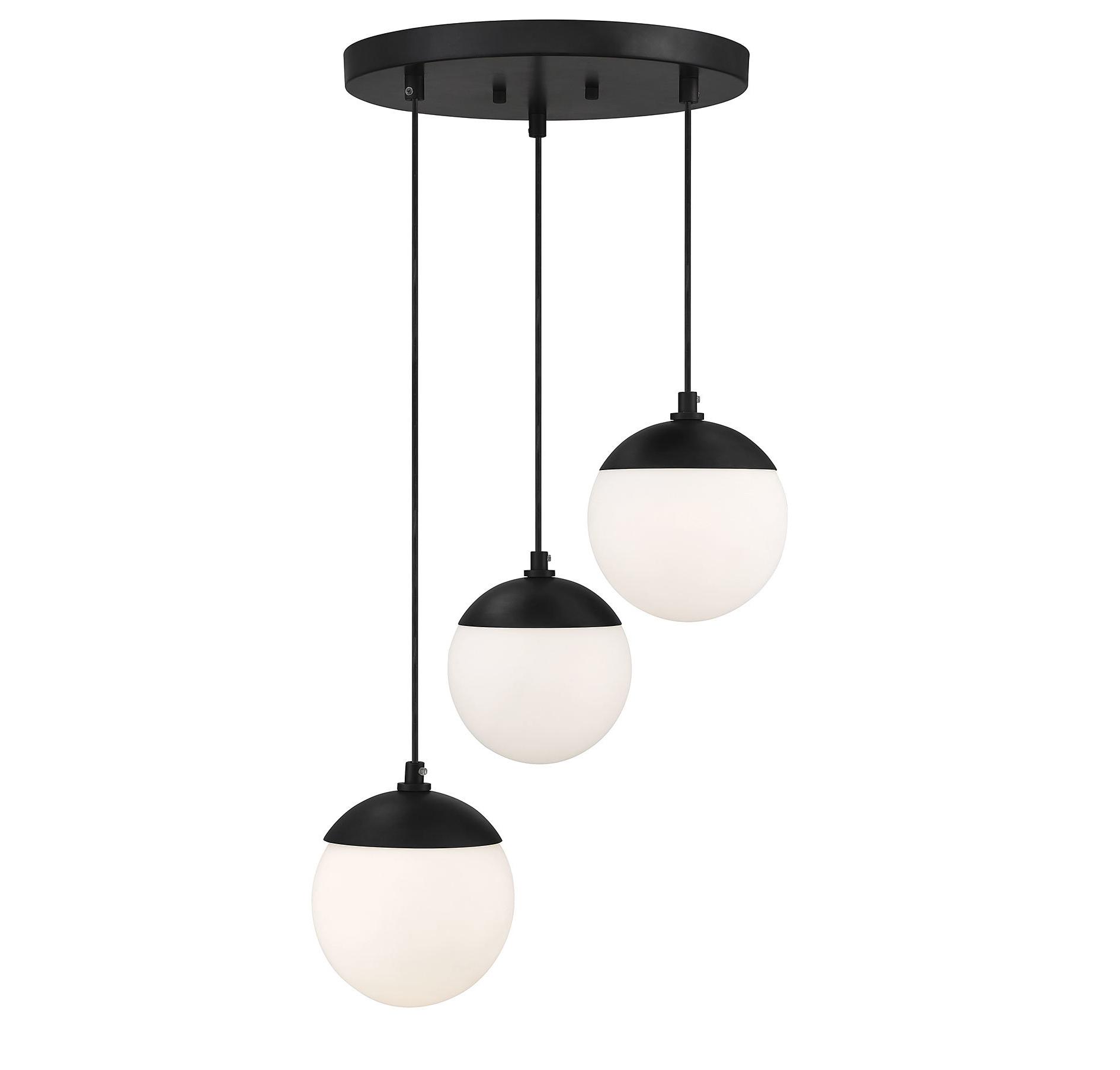 Bautista 1 Light Single Globe Pendants With Regard To 2020 Kara 3 Light Cluster Globe Pendant (View 8 of 20)