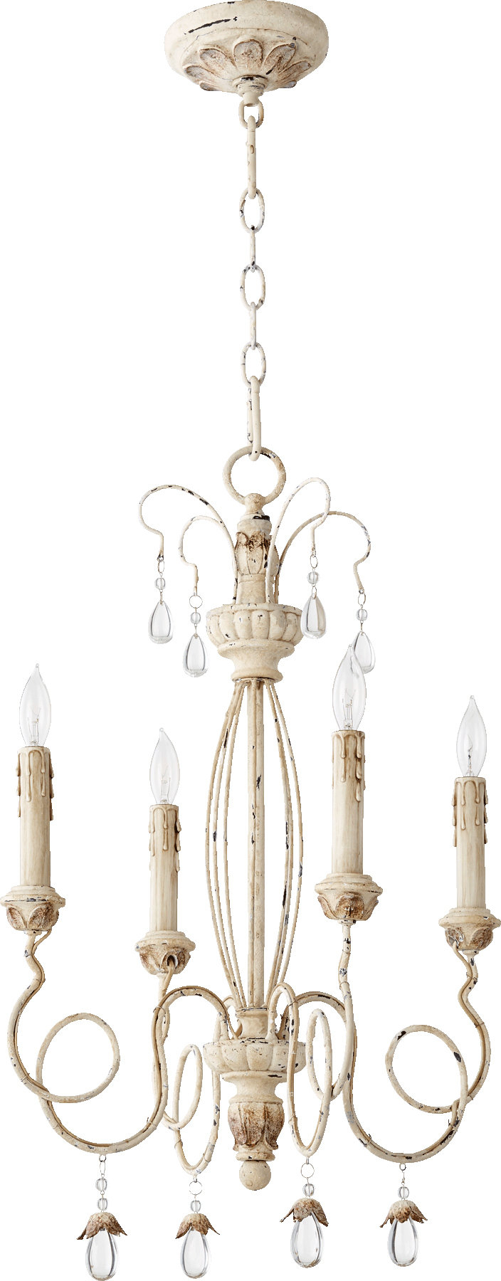 Baxley 4 Light Candle Style Chandelier Within Most Recent Bennington 4 Light Candle Style Chandeliers (Gallery 14 of 20)