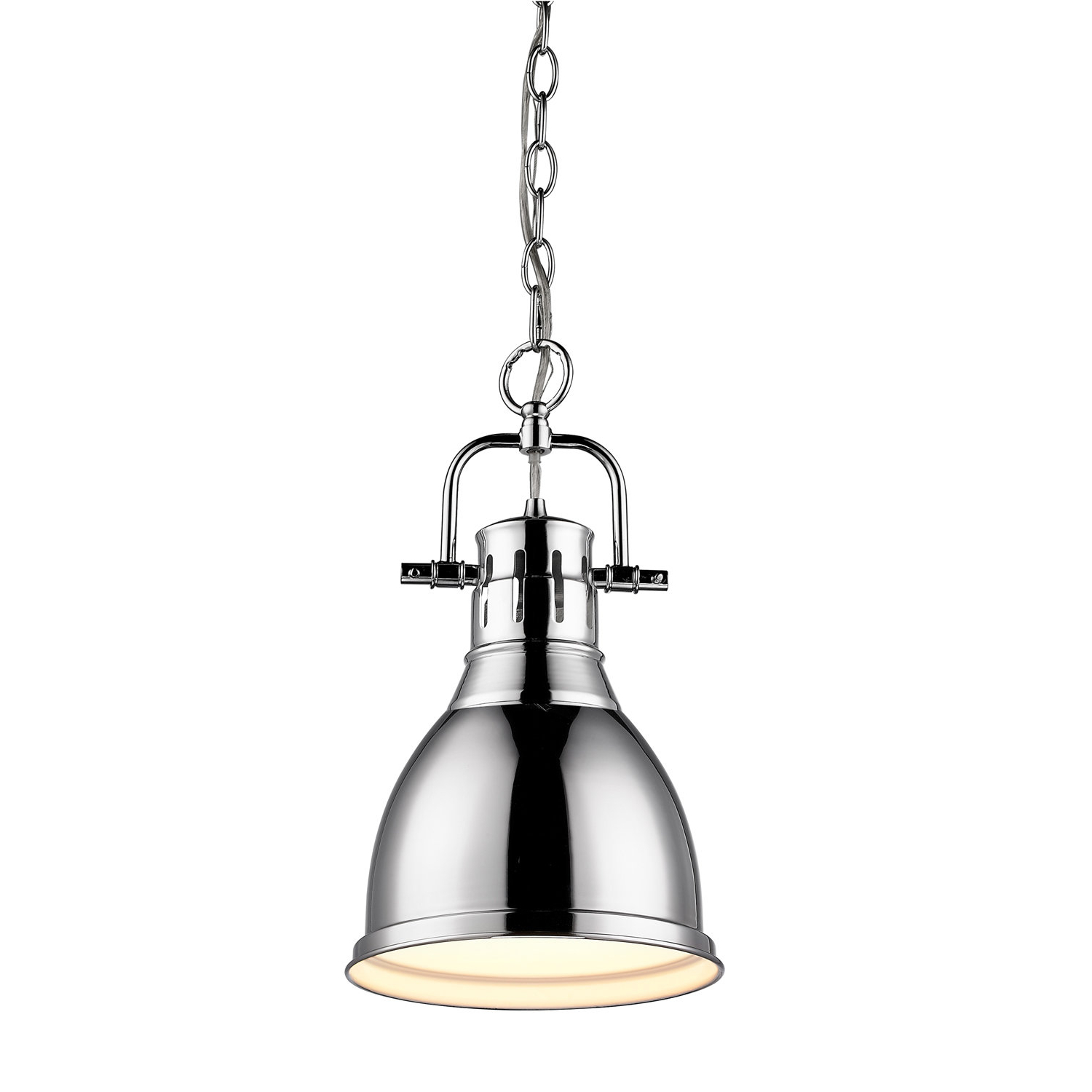 Beachcrest Home Bowdoinham 1 Light Single Dome Pendant With Most Current Sussex 1 Light Single Geometric Pendants (Gallery 7 of 20)
