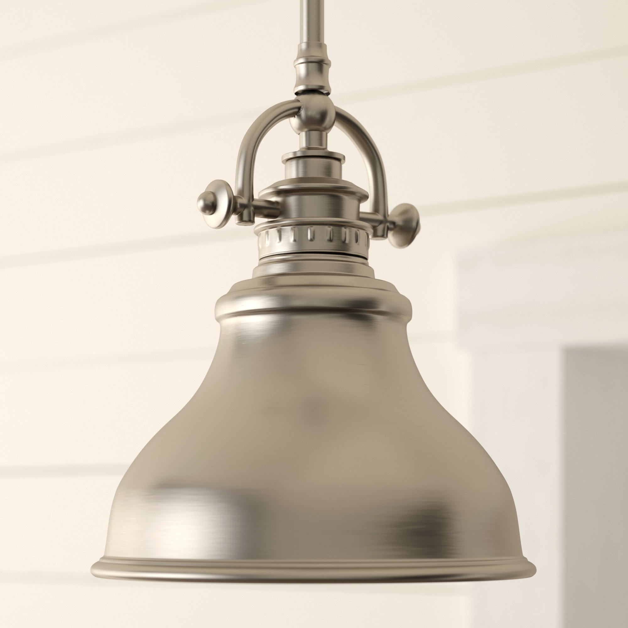 Beachcrest Home Mueller 1 Light Single Dome Pendant Regarding Latest Mueller 1 Light Single Dome Pendants (View 4 of 20)