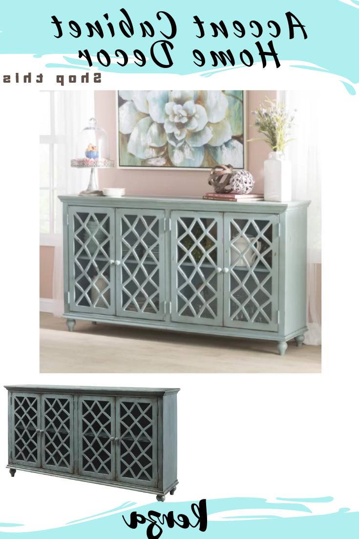 Beautiful Kara 4 Door Accent Cabinet Is A Welcome Addition In Most Popular Kara 4 Door Accent Cabinets (View 2 of 20)