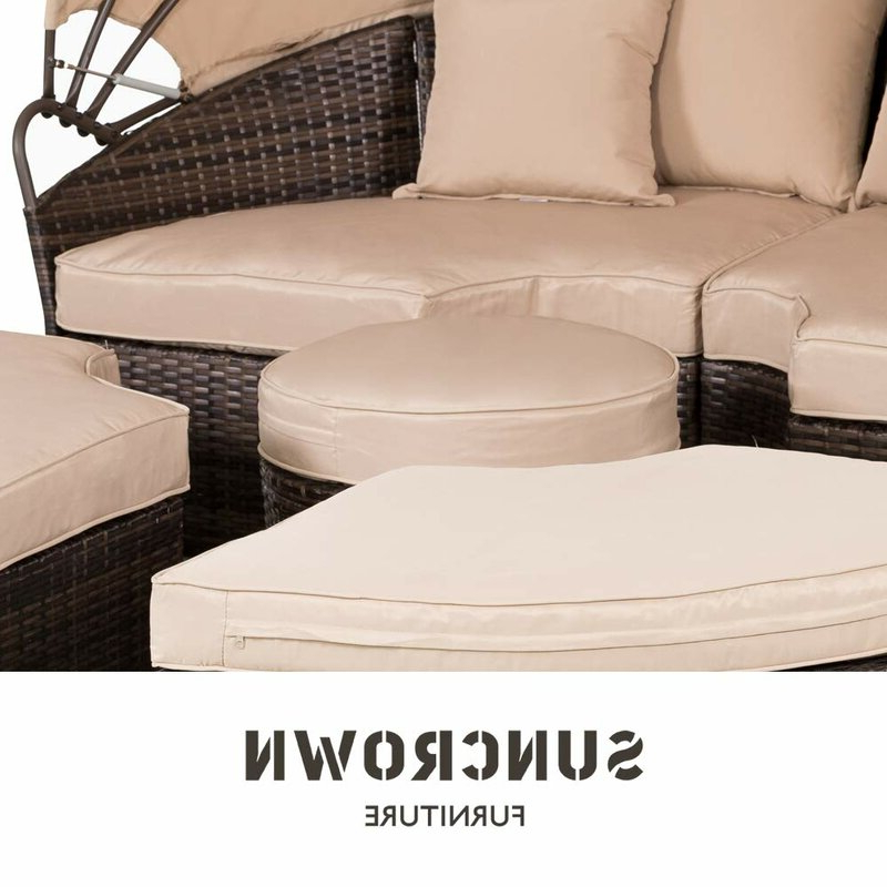 Behling Canopy Patio Daybed With Cushions With Famous Behling Canopy Patio Daybeds With Cushions (View 3 of 20)