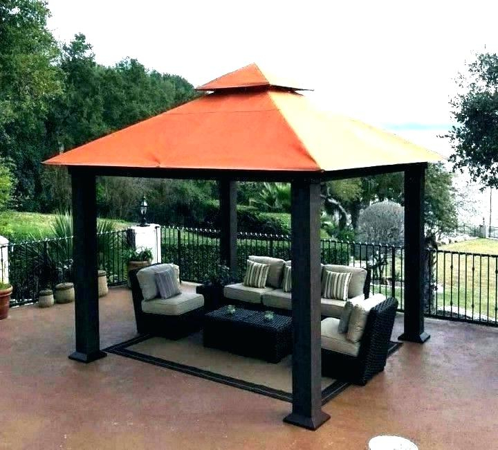 Behling Canopy Patio Daybeds With Cushions In Well Known Patio Canopy (Gallery 11 of 20)