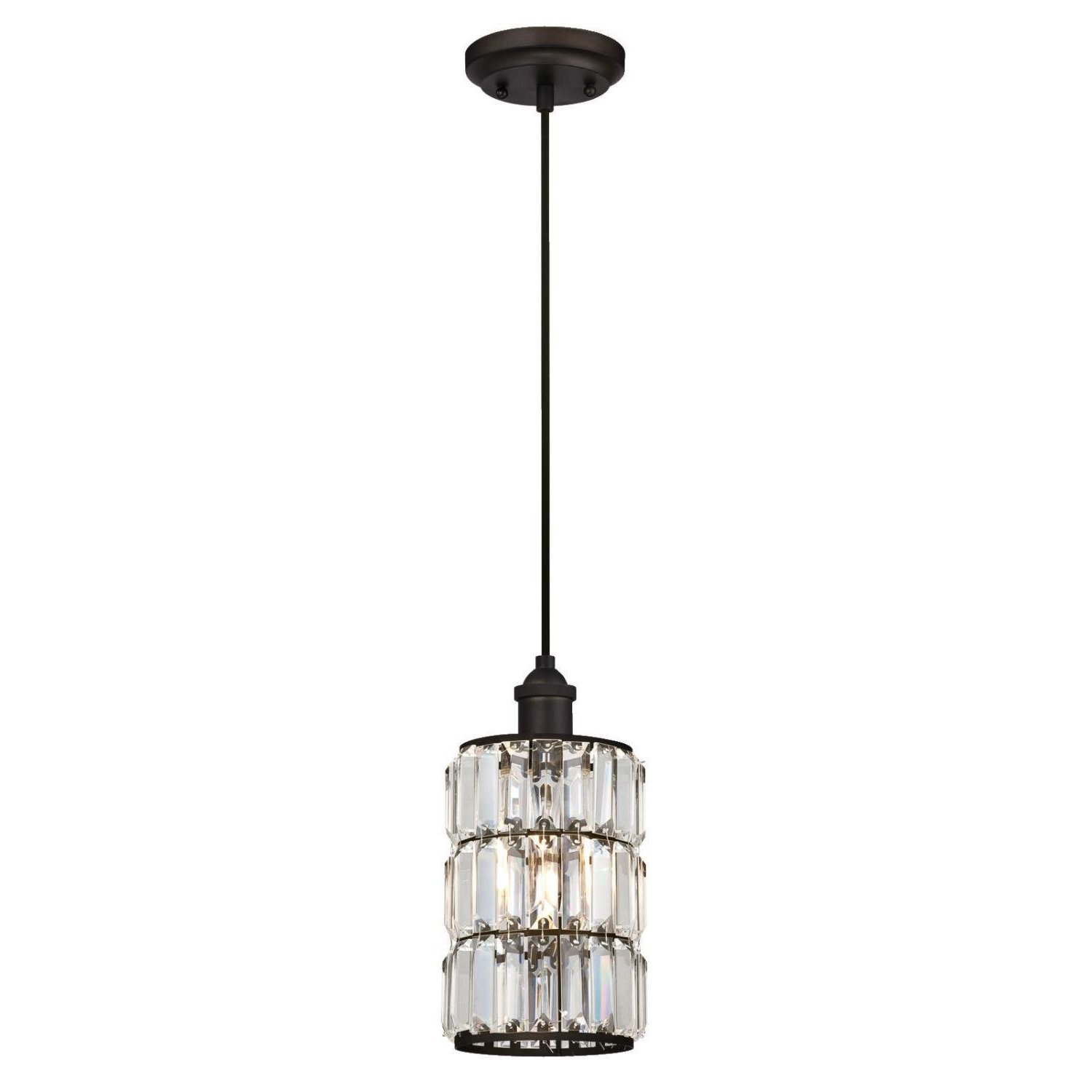 Bellamira 1 Light Drum Pendants Within Favorite Baxley 1 Light Single Cylinder Pendant (View 7 of 20)
