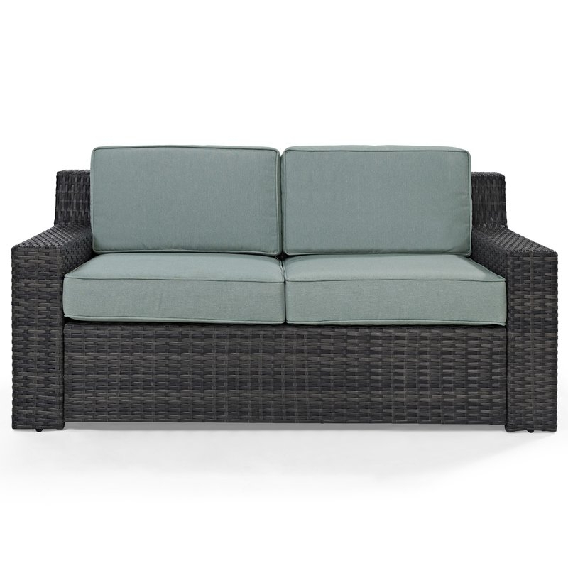 Belton Loveseats With Cushions For Most Recently Released Linwood Loveseat With Cushions (View 3 of 20)