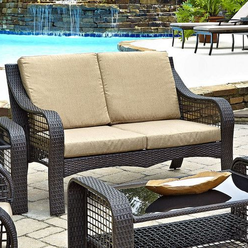 Belton Loveseats With Cushions Regarding Most Up To Date Found It At Wayfair – Lanai Breeze Loveseat With Cushions (Gallery 18 of 20)