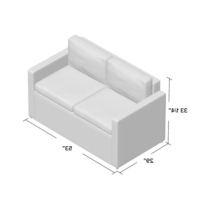 Belton Loveseats With Cushions With Regard To 2019 Belton Loveseat With Cushions (View 8 of 20)