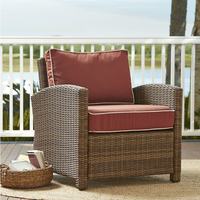 Belton Patio Sofas With Cushions Intended For Trendy Lawson Patio Chair With Cushions (View 6 of 20)