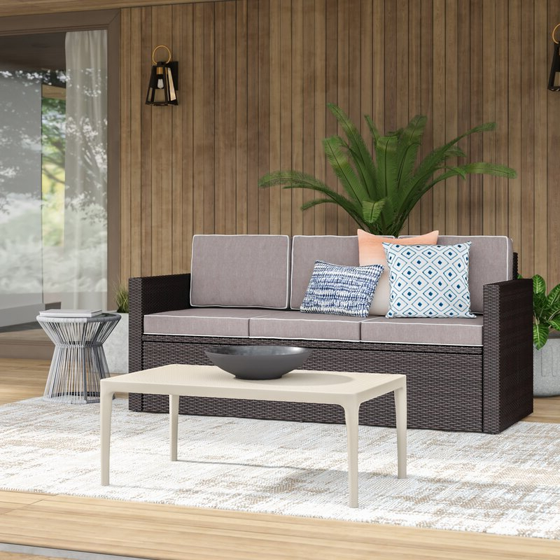Belton Patio Sofas With Cushions With Widely Used Belton Patio Sofa With Cushions (Gallery 2 of 20)