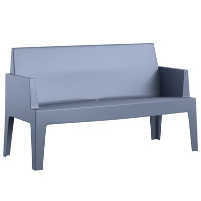 Bence Plastic Outdoor Garden Benches Inside Favorite Mercury Row Bence Plastic Outdoor Garden Bench In (View 7 of 20)