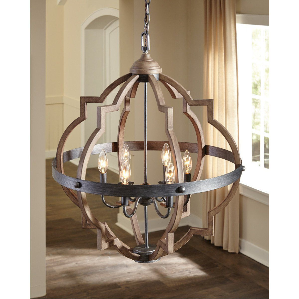 Bennington 4 Light Candle Style Chandeliers Intended For Most Recent Sea Gull Lighting Stardust/cerused Oak Four Light Chandelier (Gallery 8 of 20)