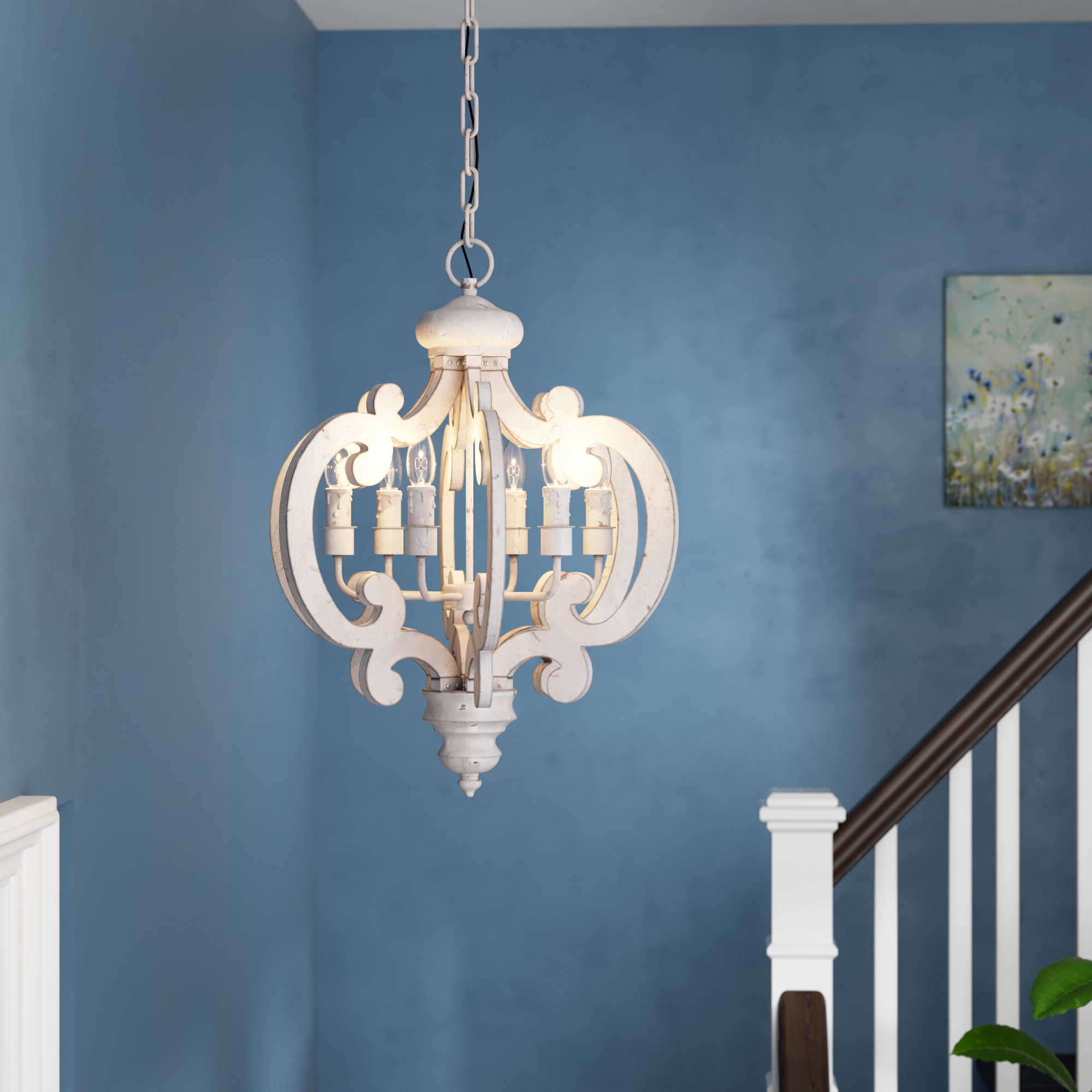 Bennington Chandelier 6 Light (View 5 of 20)
