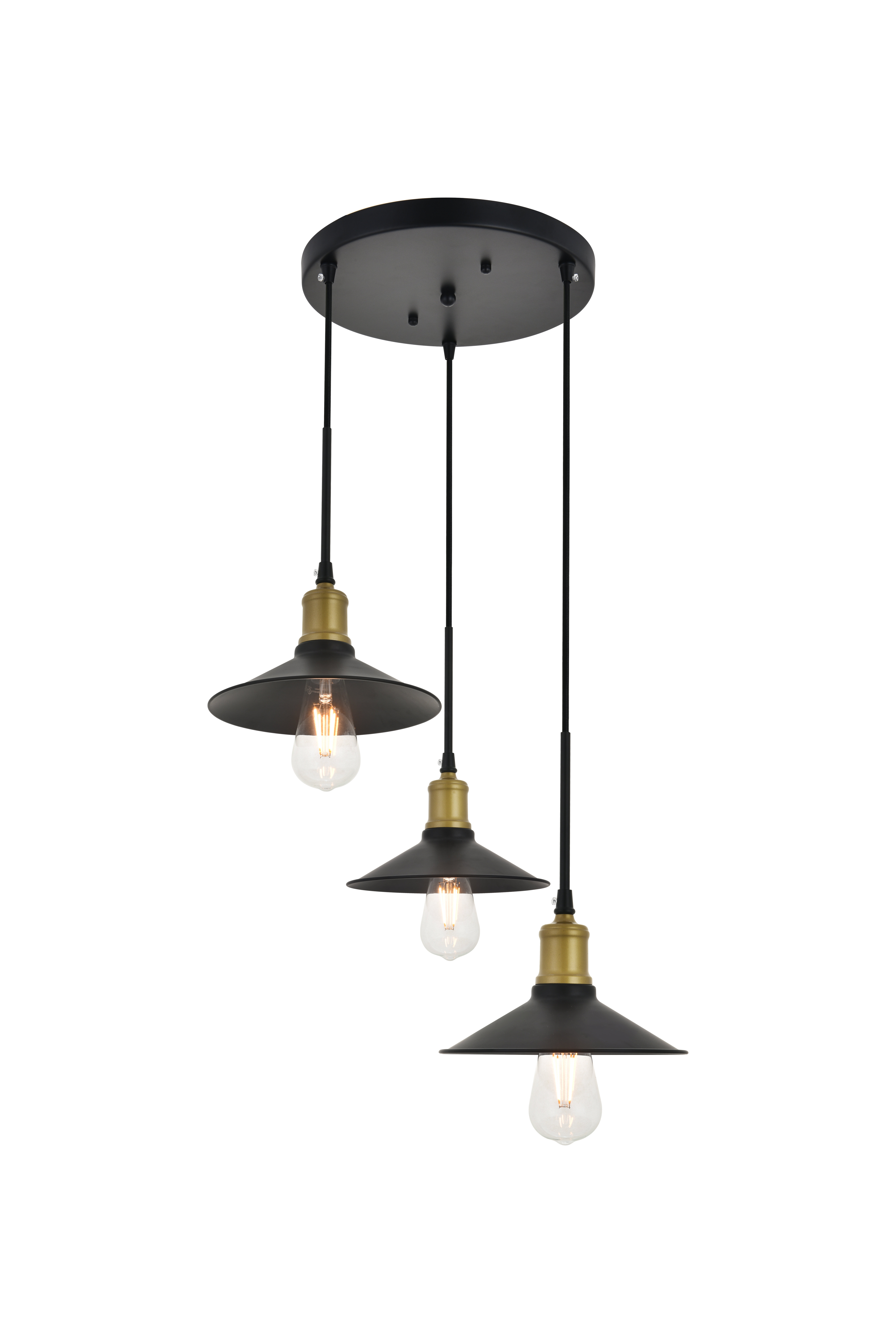 Berenice 3 Light Cluster Teardrop Pendants Throughout Well Known Dellwood 3 Light Cluster Pendant (View 8 of 20)