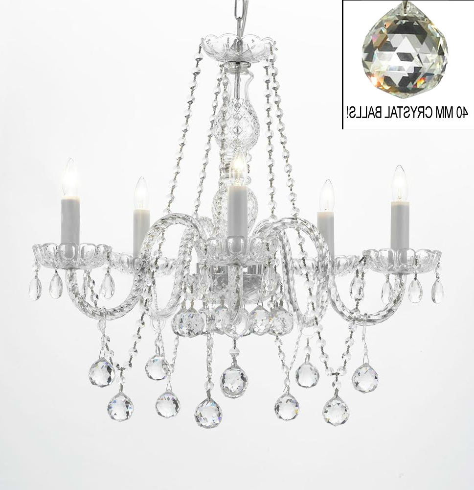 Berger 5 Light Candle Style Chandeliers With Regard To Favorite Hoffman 5 Light Candle Style Chandelier (View 14 of 20)
