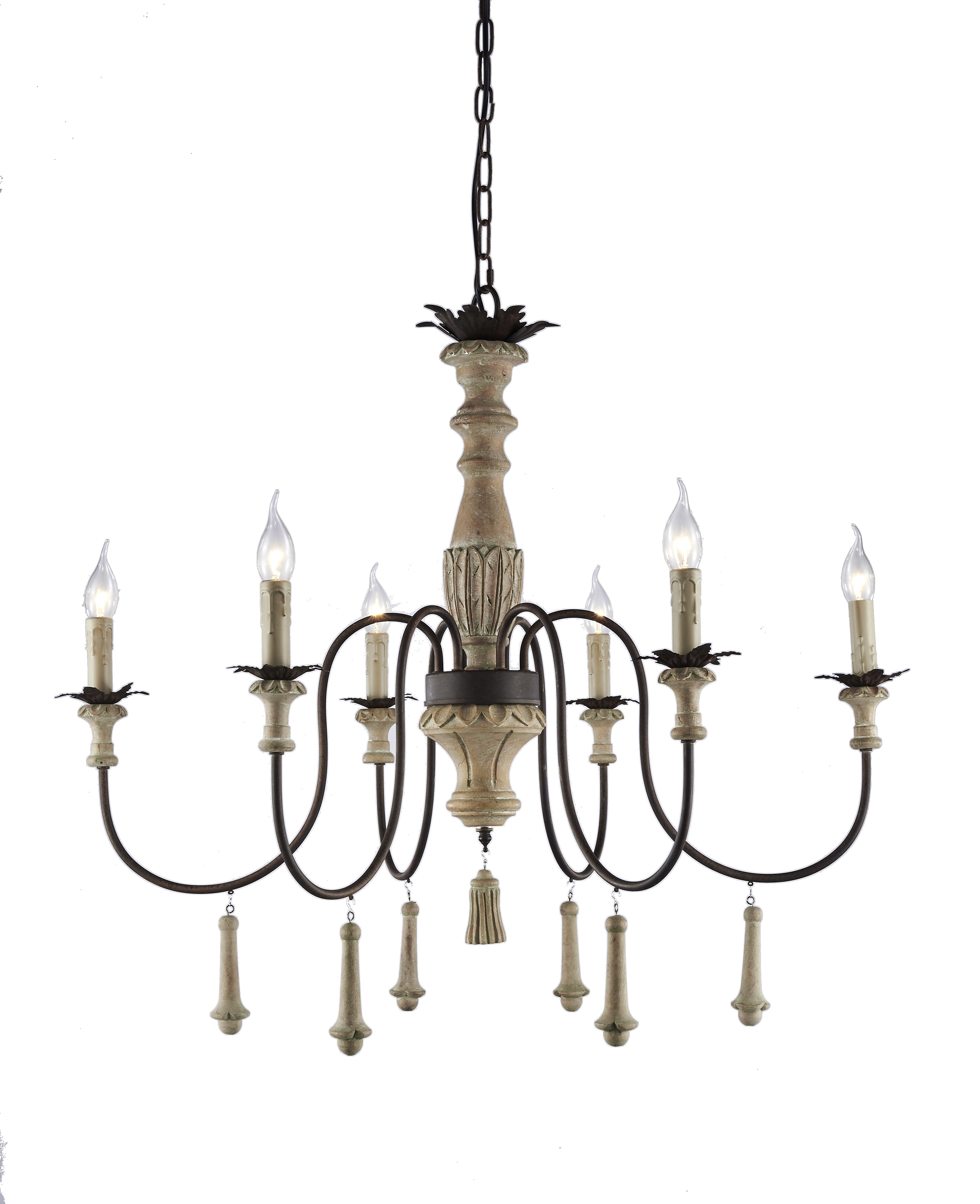 Bertrand 6 Light Chandelier Regarding Widely Used Corneau 5 Light Chandeliers (View 18 of 20)