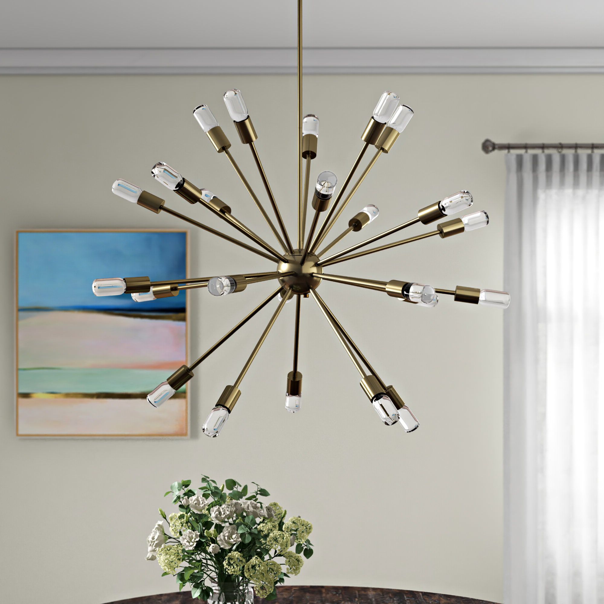 Best And Newest Bacchus 12 Light Sputnik Chandeliers With Kendall 24 Light Chandelier (View 7 of 20)