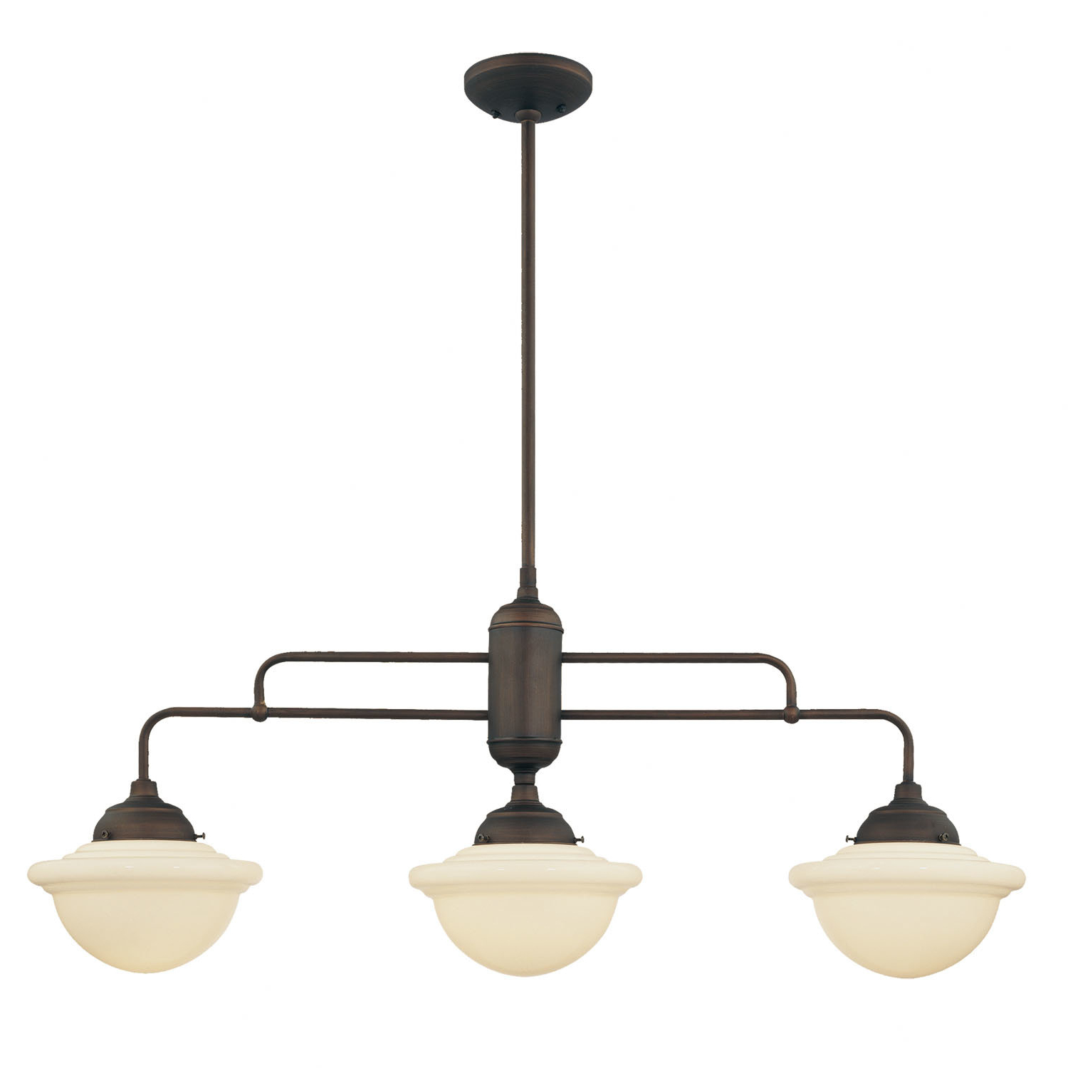 Best And Newest Bruges 3 Light Kitchen Island Schoolhouse Pendant For Dunson 3 Light Kitchen Island Pendants (View 3 of 20)