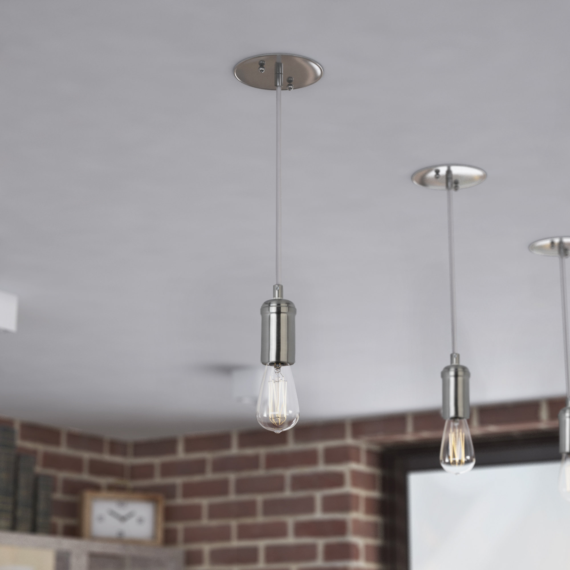 Best And Newest Bryker 1 Light Single Bulb Pendants Inside Bryker 1 Light Single Bulb Pendant (View 4 of 20)