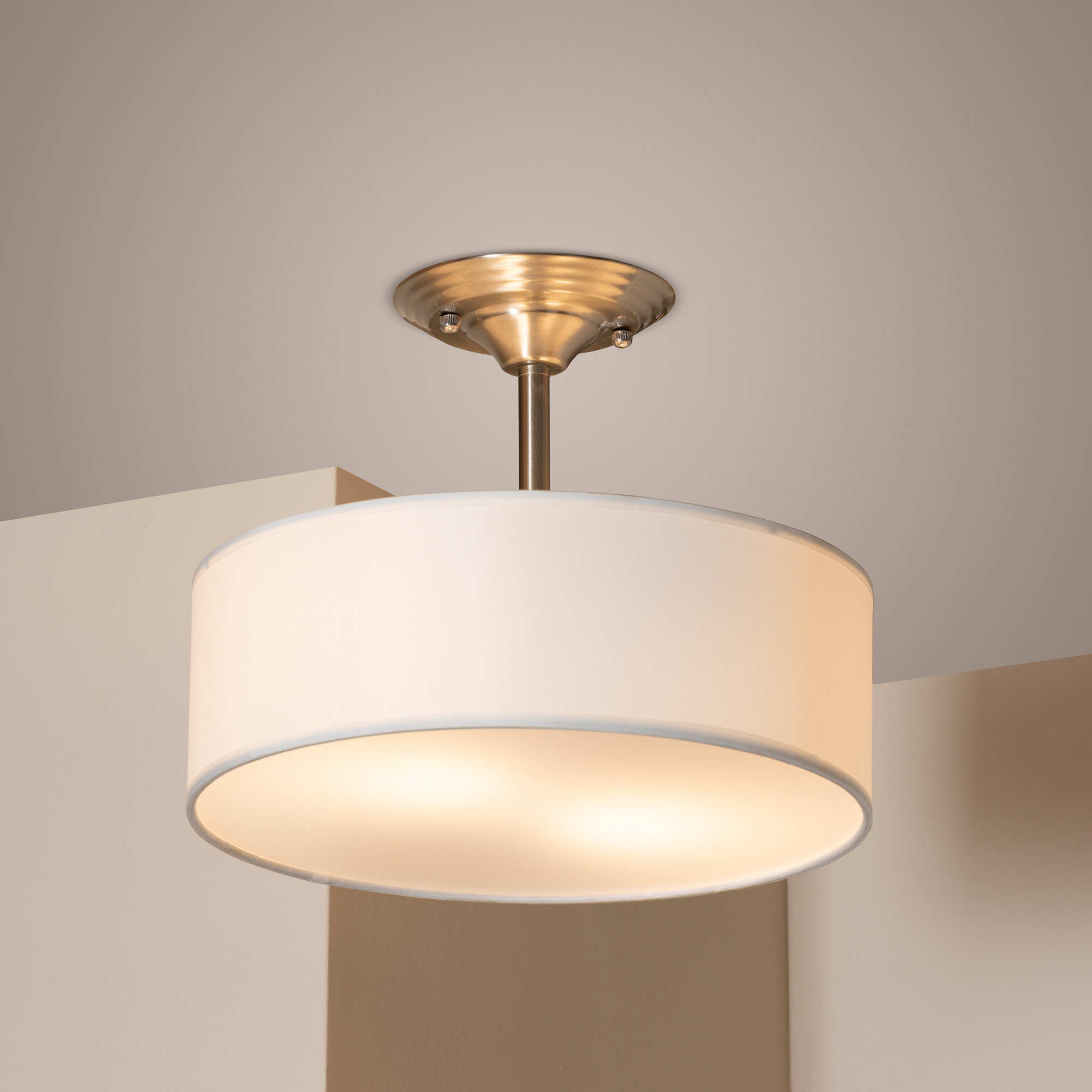 Best And Newest Buchholz 2 Light Drum Pendant With Regard To Friedland 3 Light Drum Tiered Pendants (View 1 of 20)