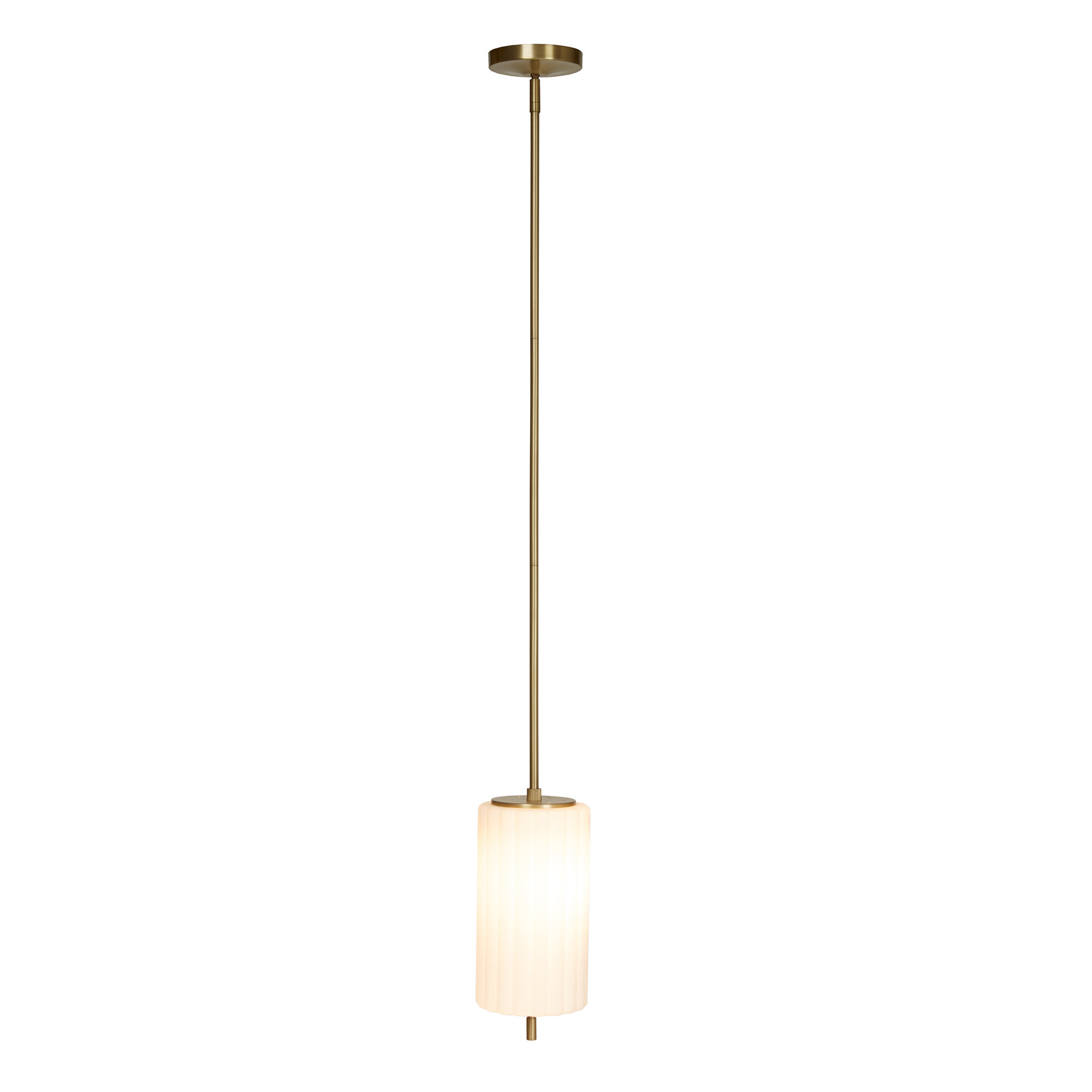 Best And Newest Callington 1 Light Led Single Geometric Pendants In Olympia 1 Light Cylinder Pendant (View 15 of 20)