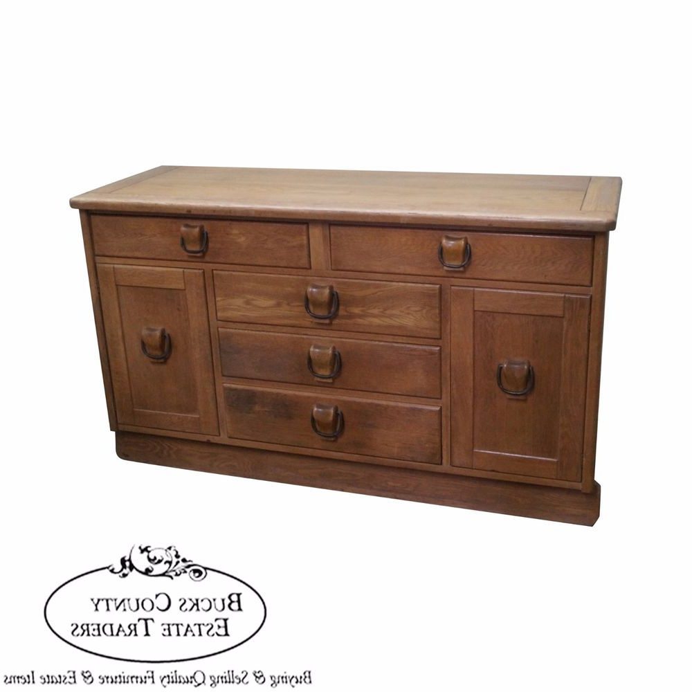 Best And Newest Drexel Circle D Southwest Ranch Oak Style Buffet Sideboard With Regard To Womack Sideboards (View 2 of 20)