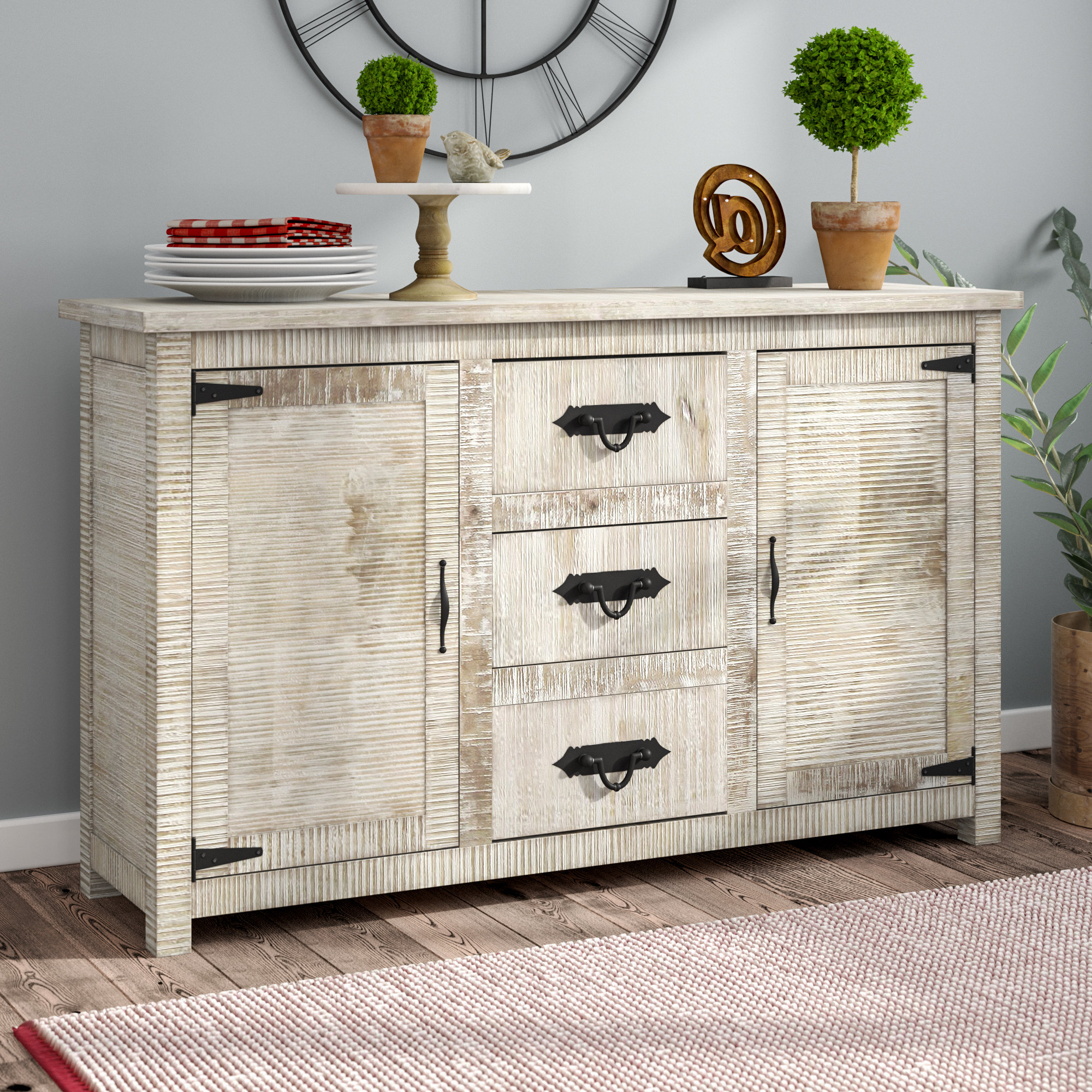 Best And Newest Drummond 4 Drawer Sideboards With Regard To Virgile Sideboard (View 2 of 20)